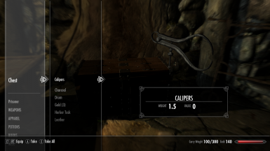 Beyond Skyrim - Calipers SE
