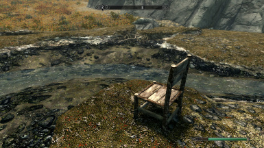 Camping chair set up