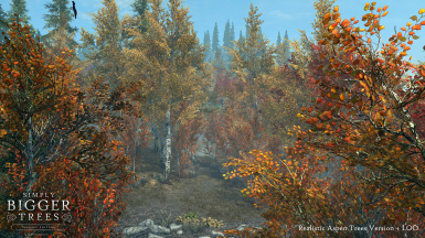 Realistic Aspen Trees version