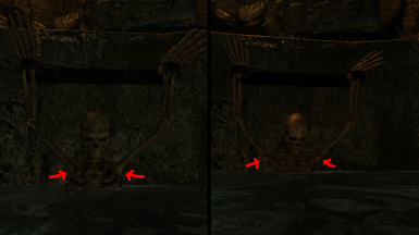 Static Skeletons Fixes