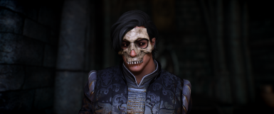 Death's Head - Skull Mask Patch