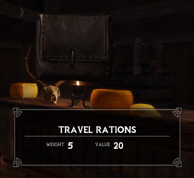 Travel Rations - Restricted Fast Travel
