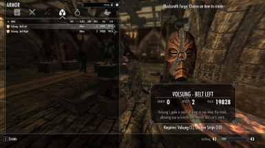 Belt-Worn Dragon Priest Masks - From Warmonger Armory