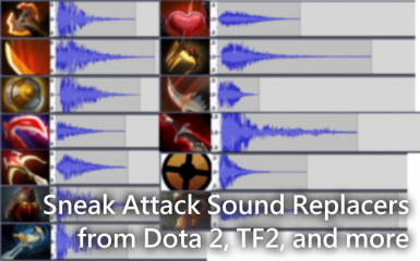 Sneak Attack Sound Replacer - SFX from Dota 2 - TF2 Crit - and more