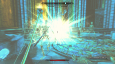 Sunhallowed arrow explosion