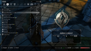 Auriels Shield description