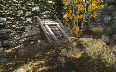 Riften Mead Cellar Inner City Exterior