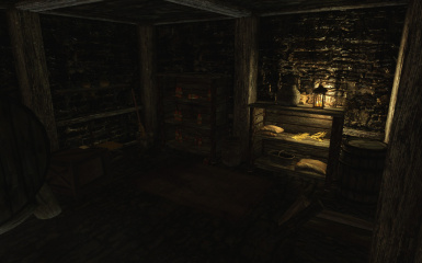 Riften Mead Cellar Interior 1