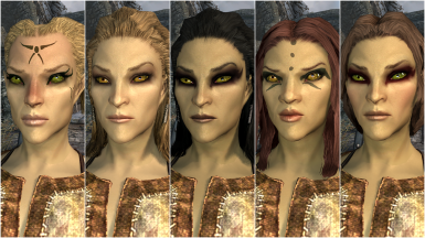 Female High Elf Presets