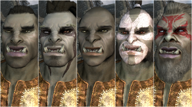 Male Orc Presets