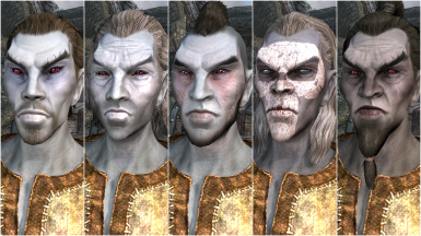 Male Dark Elf Presets