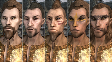 Male Wood Elf Presets