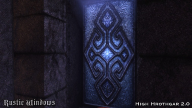 High Hrothgar - New glass texture