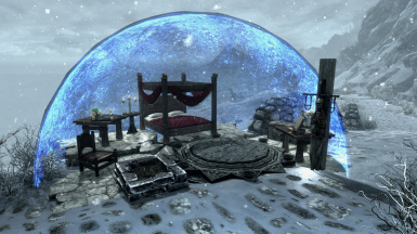 Conjured Abode with Snazzy HD Noble Bed by gutmaw