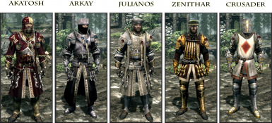 Cleric Armours of the Nine Devines - Credo StandAloneMod SSE