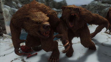 Werebear Sounds Revamped- Mihail Monsters and Animals (MIHAIL SSE PORT)