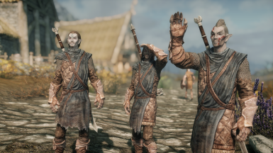 Dunmer in the Stormcloaks - A Diverse Skyrim Alteration