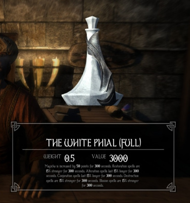 White Phial Better Alignments
