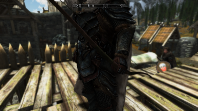 Orcish Bow in hand