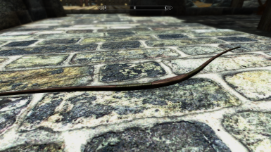 Orcish Bow on floor