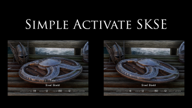 Simple Activate SKSE