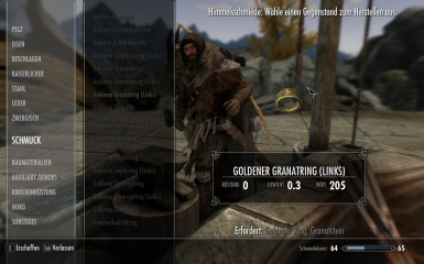 Skyrim Special Edition Left Hand Rings Modified