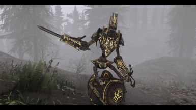 Patch for Dwemer Automatons Glowmapped and Mortal Enemies