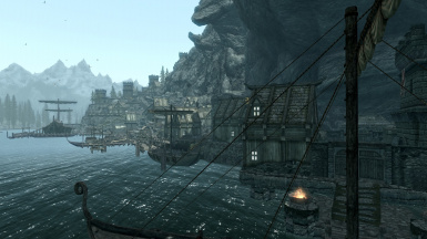 Docks from Eastern Gate