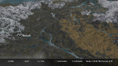 A Quality World Map at Skyrim Special Edition Nexus   Mods and
