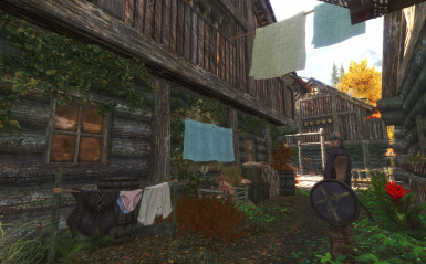 Guarding Underwear in Riften