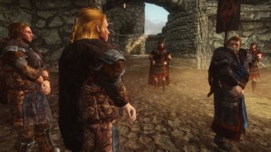 2 - Opening scene with SBAR-2 and Stormlord Armor_Ulfric