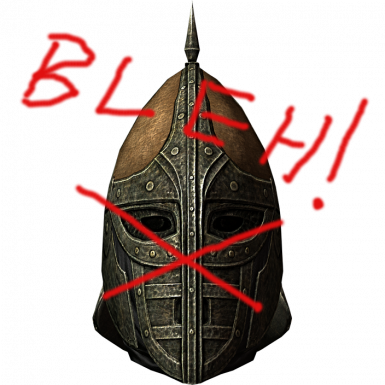 Skyrim guard helm bleh