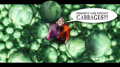 Immersive Lore friendly Cabbages sm