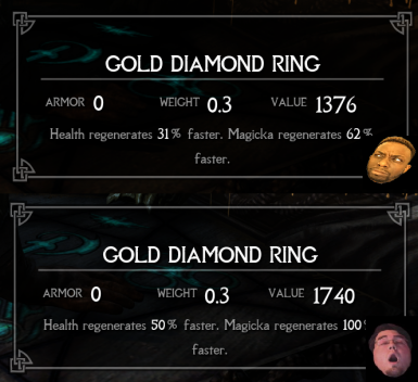 Health and Magicka regen