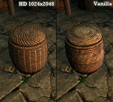 HD Baskets Textures