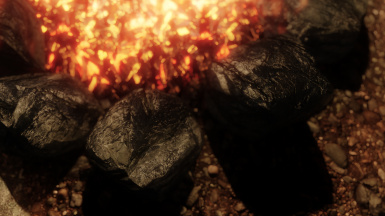 Fireplaces Add-On campfire rocks