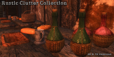 RUSTIC CLUTTER COLLECTION - Special Edition