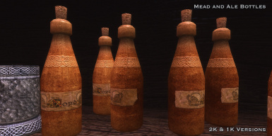 Mead and Ale Bottles