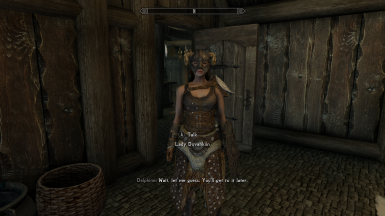 The Lady Last Dragonborn Follower