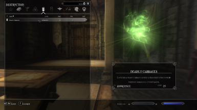 Deadly Cabbages in Menu