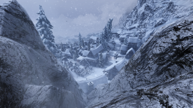 JK's Winterhold with Rembrandt ENB and Obsidian Weathers and Seasons