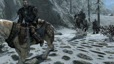 Stormcloak Battle Armor Replacer 6 - Officer Armor Only - Battle 1_5  -SSE IMAGE-
