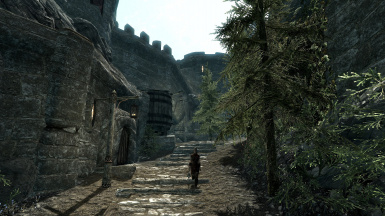 View towards Helgen gate