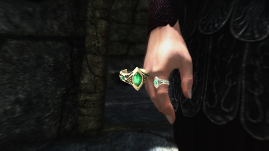 Snow Elf Emerald Ring