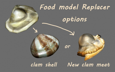 Food model replacer options