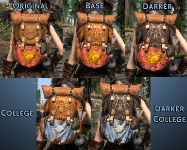 Main Mod Backpack Types