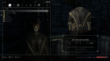 Better Archmage's Robes - SSE