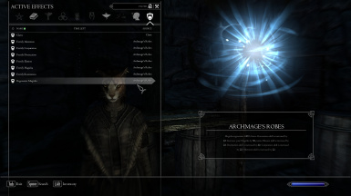 Light - Active Magic Effects