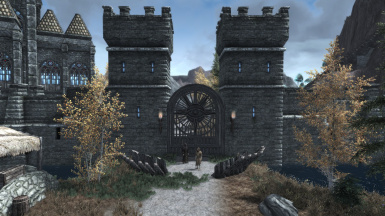 Main Gate to Manantis