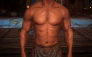 shaved chest option